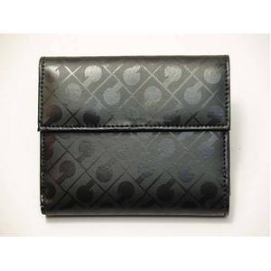 Gherardini(ゲラルディーニ) 33KBS08 0001 Wホック財布 ブラック