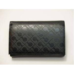 Gherardini(ゲラルディーニ) 33KBS12 0001 2つ折り財布 ブラック