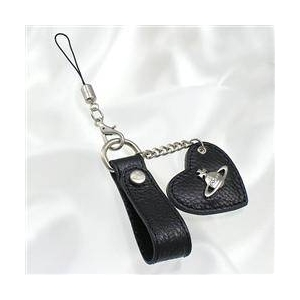 Vivienne Westwood(ヴィヴィアンウエストウッド) 4532 BK 携帯ストラップ