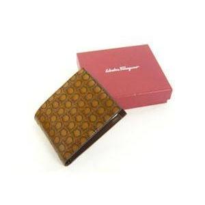 Salvatore Ferragamo(サルヴァトーレ フェラガモ) 66-3555 BROWN メンズ 財布(コインケース付き)