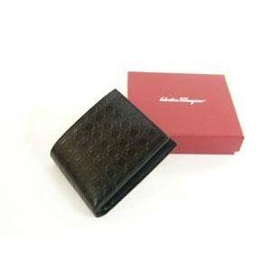 Salvatore Ferragamo(サルヴァトーレ フェラガモ) 66-3561 BLACK メンズ 財布(コインケース無し)