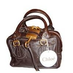 CHLOE(クロエ) 7AS045-7E422-175 BRUN パディントン ミニボストンバッグ新品