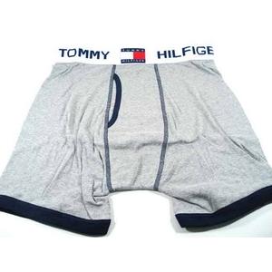 TOMMY HILFIGER(トミーヒルフィガー) U62512232 GREY/NAVY 004 アンダーウェア ブリーフ L GREY