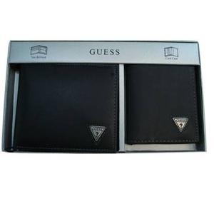 GUESS(ゲス) 8285/01 BK 2つ折財布 名刺入れ セット