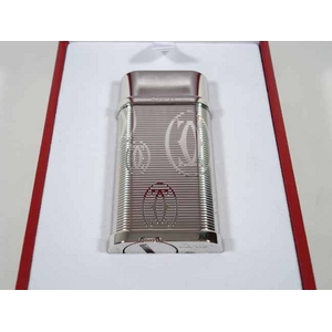 Cartier(カルティエ) CA120145 ハッピーバースデイ ガスライター プラチナフィニッシュ