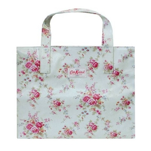 CATH KIDSTON(キャスキッドソン) Washed Rose Natural White キャリーオールトート バッグ 209007