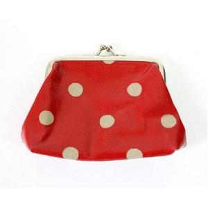 CATH KIDSTON(キャスキッドソン) clasp purse o/c spot がま口財布