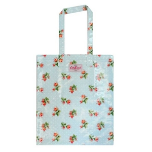 CATH KIDSTON(キャスキッドソン) Large Book Bag With Pocket トートバッグ Rose Sprig Blue 229845