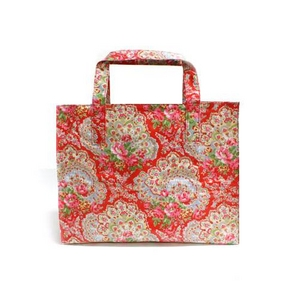 CATH KIDSTON(キャスキッドソン) Carry-all bag, paisley キャリーオールトートバッグ 229906