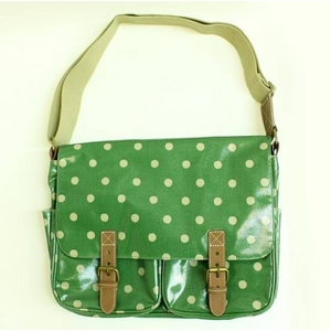 CATH KIDSTON(キャスキッドソン) Saddle bag, w/leather, spotgreen