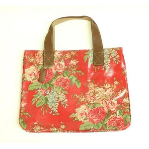 CATH KIDSTON(キャスキッドソン) stand up tote afghan flowers トートバック