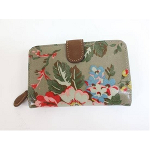 CATH KIDSTON(キャスキッドソン) folded zip wallet stone rosesFolded Zip Wallet