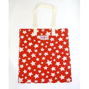 CATH KIDSTON(キャスキッドソン) re-usable printed bag shooting star プリントエコバック