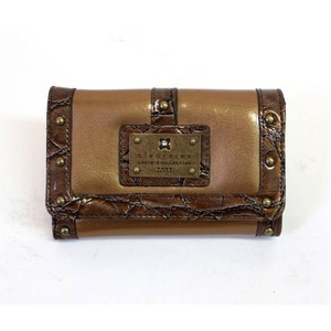 clear crea(クリアクレア) FOLDED WALLET(財布) CGOS-065-91-17 CAMEL