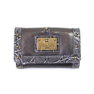 clear crea(クリアクレア) FOLDED WALLET(財布) CGOS-065-91-17 GRAY