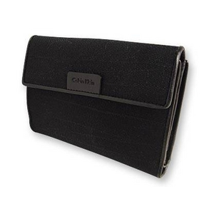 Calvin Klein(カルバンクライン) 606.513.235.001 BK Wホック2つ折り財布