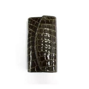 クロコダイル 6連キーケース CROCODILE 1314 black