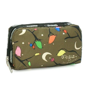 LESPORTSAC(レスポートサック) EVENING SONG6511 RECTANGULAR COSMETIC ポーチ