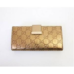 Gucci(グッチ) 212089 AC41G 8236新作 長財布 グッチシマ