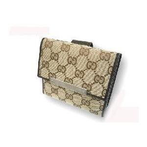 Gucci(グッチ) 112664 F40IR 9643Wホック 2つ折り財布