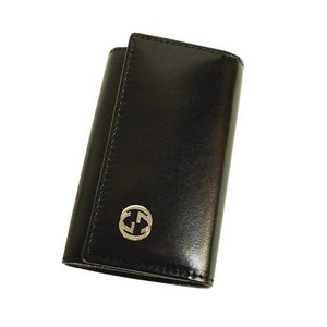 GUCCI(グッチ) 115225 A490N 1000 6連キーケース ブラック