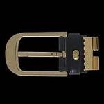 Dunhill(ダンヒル) レザーベルト BE-DUN-A0018HPF117ABKxBR/Gold