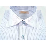 Falchi New York(ファルチ ニューヨーク) F-W S.BL #5 ワイシャツ  LL(43-86)