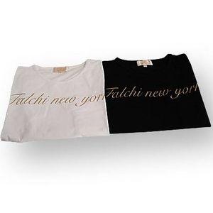Falchi New York(ファルチ ニューヨーク) F06ST17 ファッション Tシャツ ホワイト L