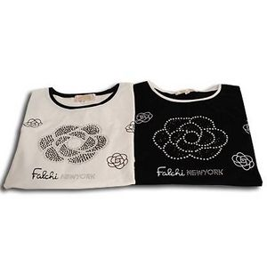 Falchi New York(ファルチ ニューヨーク) F06WTD08 ファッション Tシャツ ブラック M