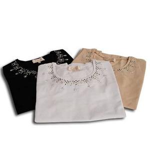 Falchi New York(ファルチ ニューヨーク) FAAI06T-25 ファッション Tシャツ ベージュ M