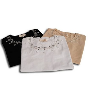 Falchi New York(ファルチ ニューヨーク) FAAI06T-25 ファッション Tシャツ ベージュ L