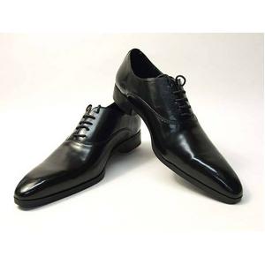 Falchi New York(ファルチ ニューヨーク) FN-007 BK 紳士靴 ビジネスシューズ ブラック 26.5