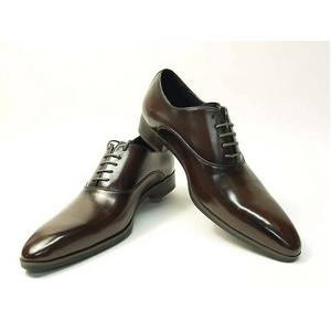 Falchi New York(ファルチ ニューヨーク) FN-007 BR 紳士靴 ビジネスシューズ ブラウン 25.5