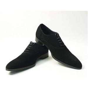 Falchi New York(ファルチ ニューヨーク) FN-007 SWBK 紳士靴 ビジネスシューズ ブラック スウェードブラック 25