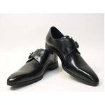 Falchi New York(ファルチ ニューヨーク) FN-008 BK 紳士靴 ビジネスシューズ ブラック  ブラック 26