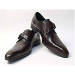 Falchi New York(ファルチ ニューヨーク) FN-008 BR 紳士靴 ビジネスシューズ ブラウン  ブラウン 27