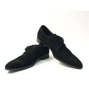 Falchi New York(ファルチ ニューヨーク) FN-008 SWBK 紳士靴 ビジネスシューズ ブラック  スウェードブラック 26