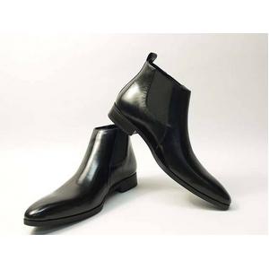 Falchi New York(ファルチ ニューヨーク) FN-012 BK 紳士靴 ビジネスシューズ ブラック ブラック 26.5