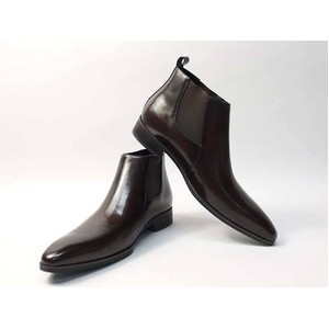 Falchi New York(ファルチ ニューヨーク) FN-012 BR 紳士靴 ビジネスシューズ ブラウン ブラウン 24.5