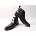 Falchi New York(ファルチ ニューヨーク) FN-012 BR 紳士靴 ビジネスシューズ ブラウン  ブラウン 26.5