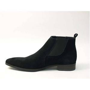 Falchi New York(ファルチ ニューヨーク) FN-012 SWBK 紳士靴 ビジネスシューズ ブラック  スウェードブラック 26