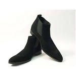 Falchi New York(ファルチ ニューヨーク) FN-012 SWBK 紳士靴 ビジネスシューズ ブラック  スウェードブラック 27