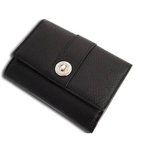 Marie Claire(マリ・クレール) MCR-018 Wホック2つ折財布 ブラック