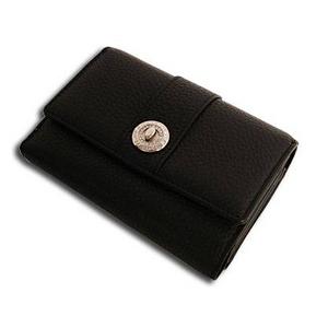 Marie Claire(マリ・クレール) MCR-020 Wホック2つ折財布 ダークブラウン