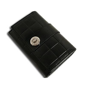 Marie Claire(マリ・クレール) MCR-024 Wホック2つ折財布 ダークブラウン
