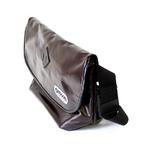 OUTDOOR(アウトドア) 12429192-70 シャイニング PU ブラウン メッセンジャーバッグ