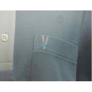 VERRI milano(ベリーミラノ) メンズ ポロシャツ V432-02 L.BULE M