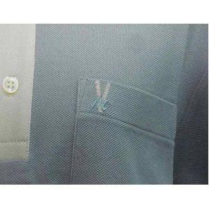 VERRI milano(ベリーミラノ) メンズ ポロシャツ V432-02 L.BULE XL