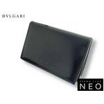 Bvlgari(ブルガリ) 名刺入れ・カードケース ブラック 20356 2009新作