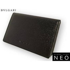 Bvlgari(ブルガリ) カードケース ブラック 20358 2009新作
